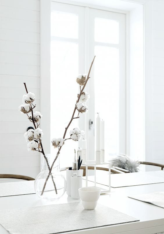 White interior decor