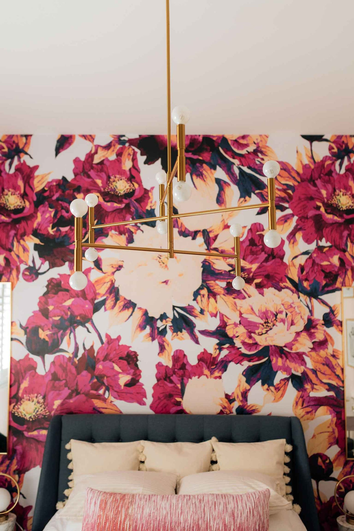 DIY bedroom project with some fancy interior decors