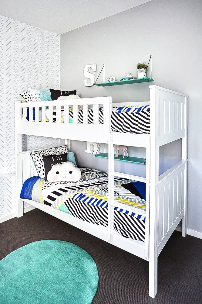 Twins room interior project