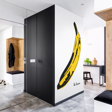 The Banana removable wall mural