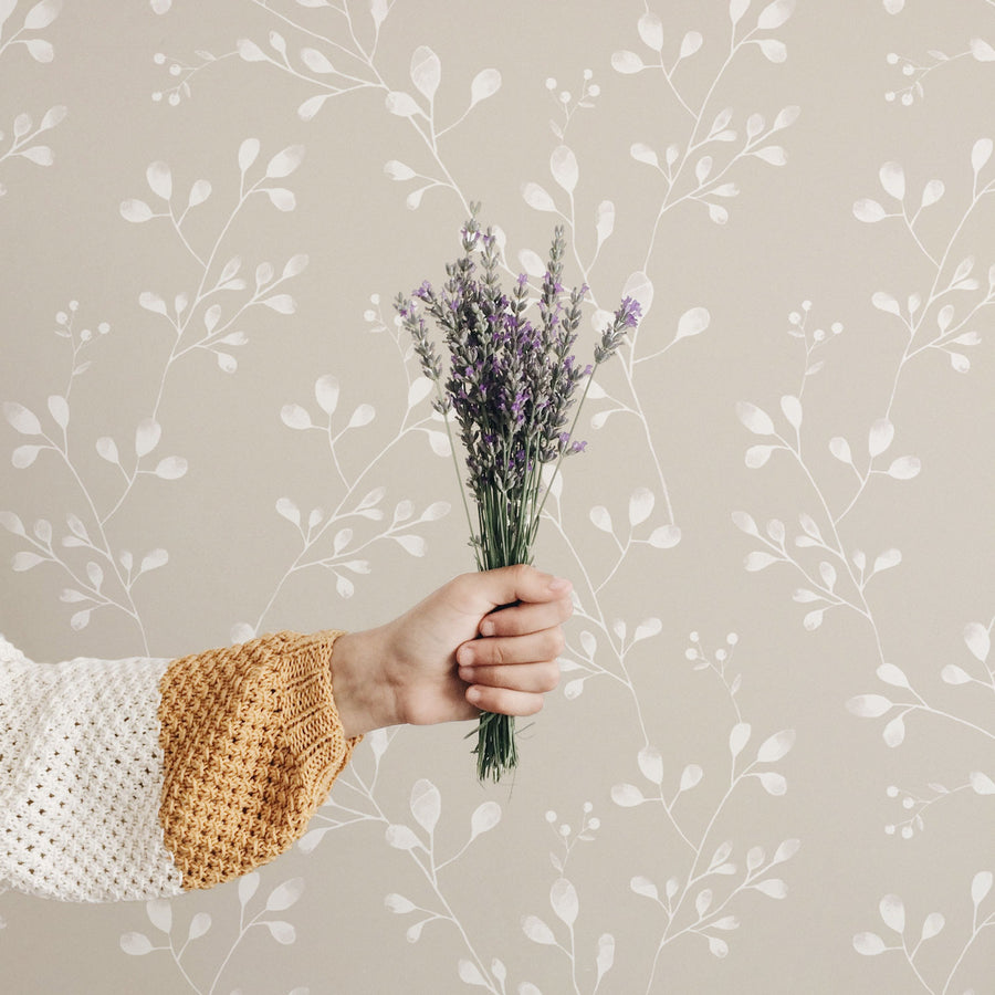Wildflower Removable Wallpaper For Kids Room