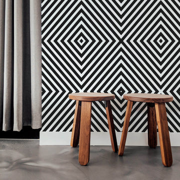 Black diamond removable wallpaper