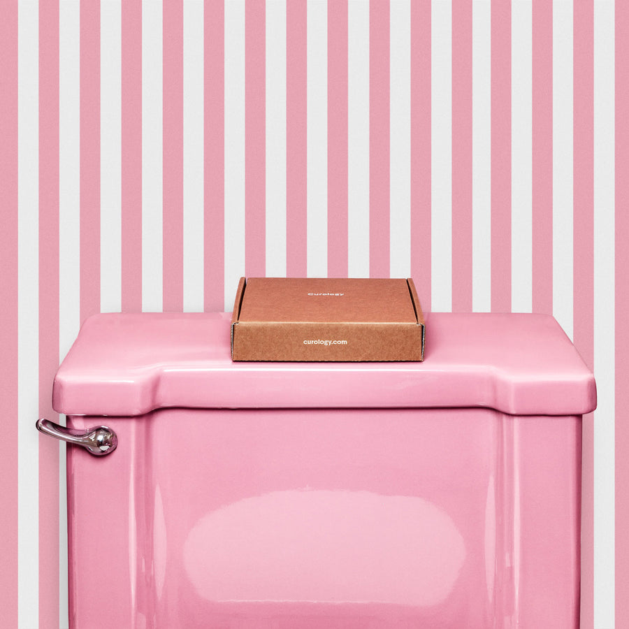Candy Stripe removable wallpaper