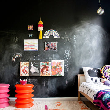 Removable Chalkboard wallpaper