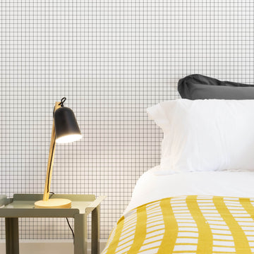 Modern checkers removable wallpaper