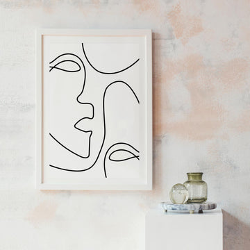 Feminine art wall decor
