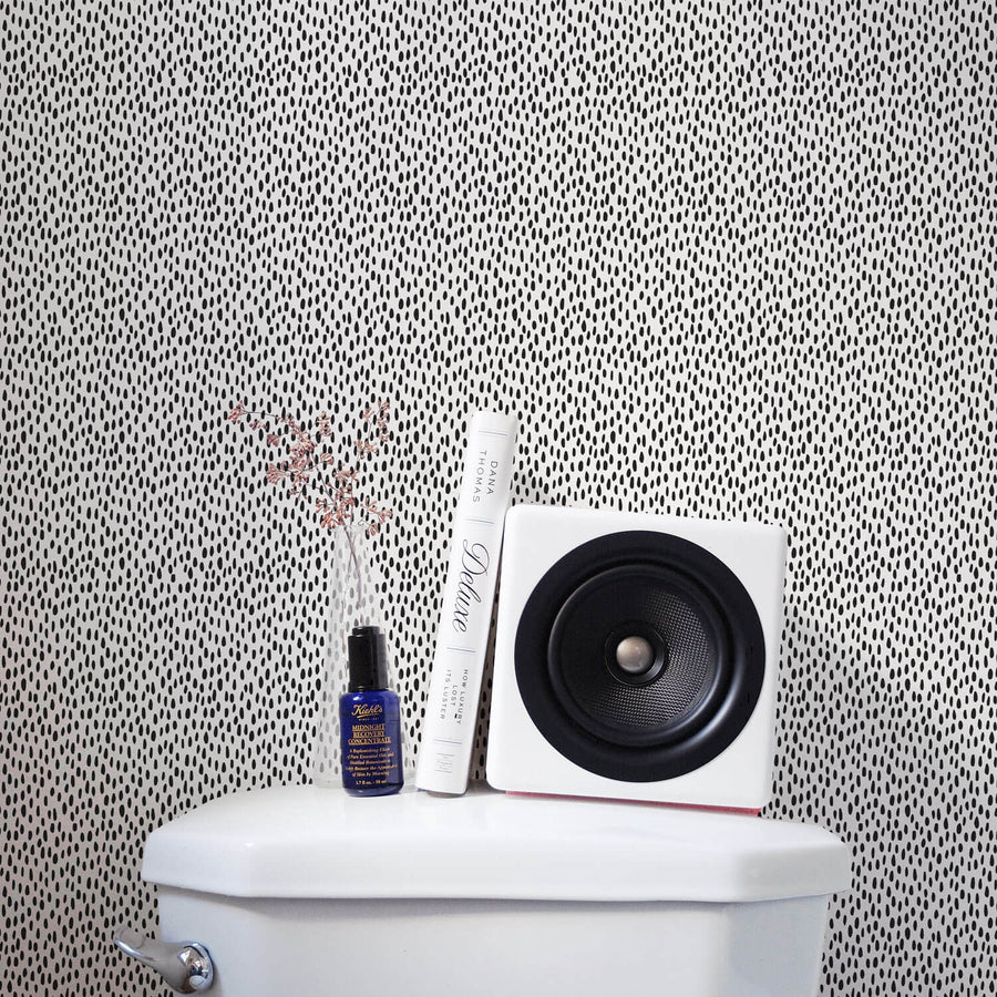 Tiny speckle print removable wallpaper