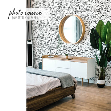 Dalmatian spot removable wallpaper