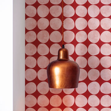 Pink Retro Chic removable wallpaper