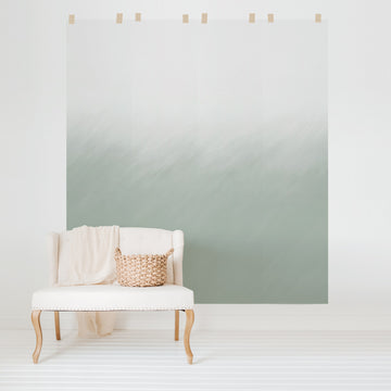 Sage Green Ombre wall mural