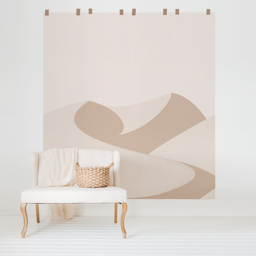 Dunes removable wall mural design