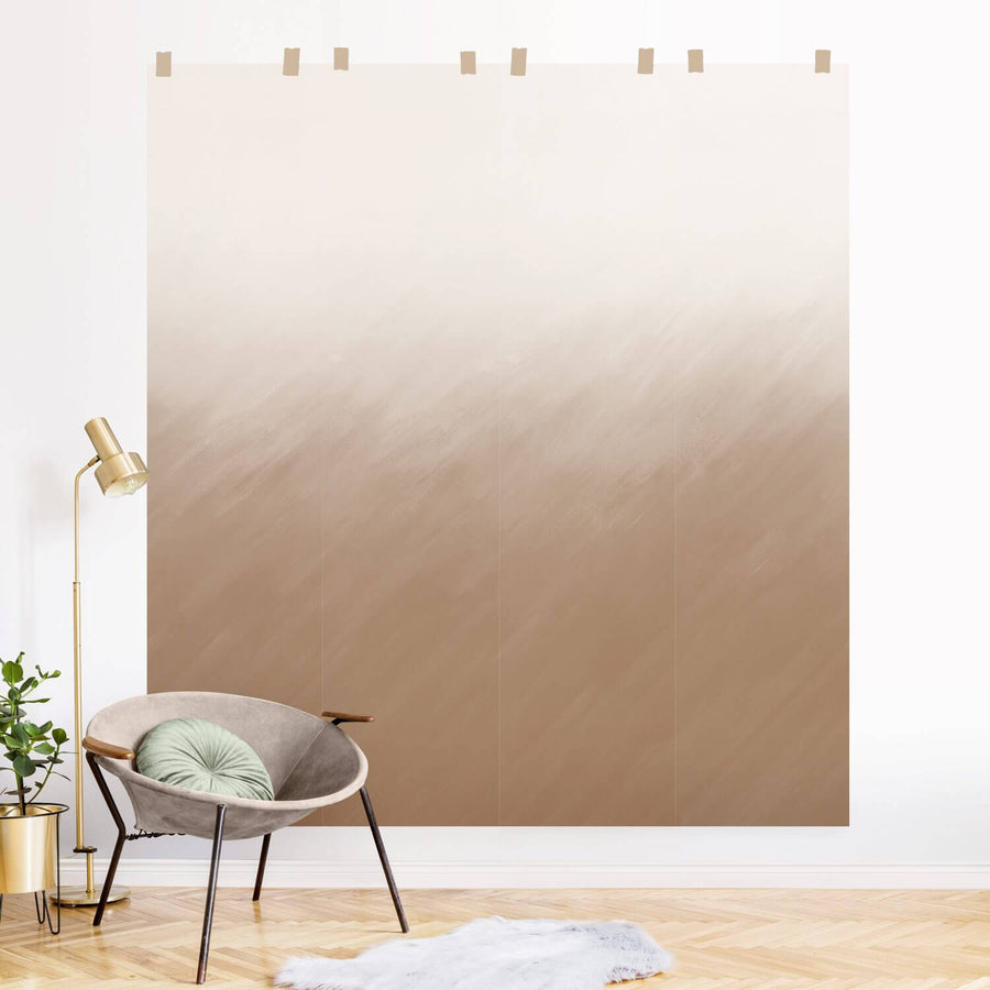Custom Order: Neutral Ombre Wall Mural