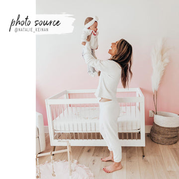 Baby Pink Ombre wall mural