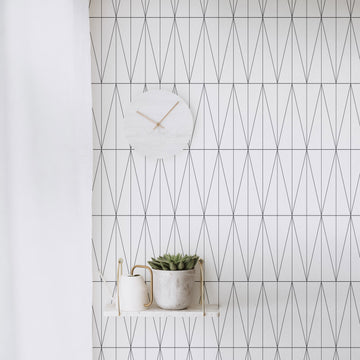 Minimal design removable wallpaper