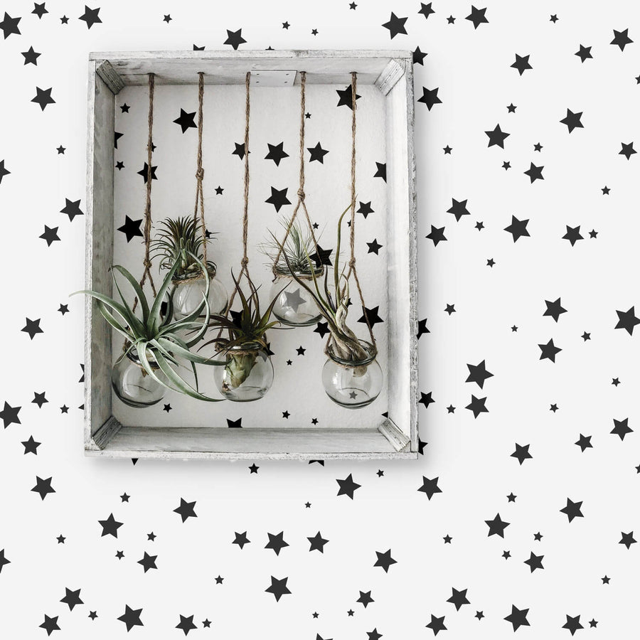 Little stars removable wallpaper