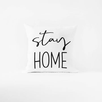 Stay Home cushion cover