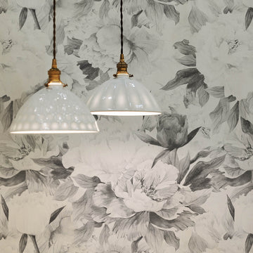 Grey peony removable wallpaper