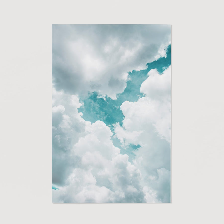 Sky Print wall decor