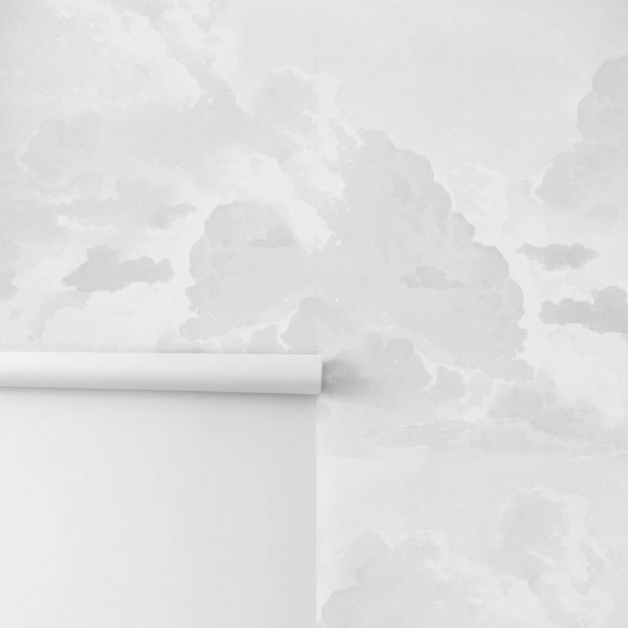 Dreamy clouds removable wallpaper by Livettes Wallpaper
