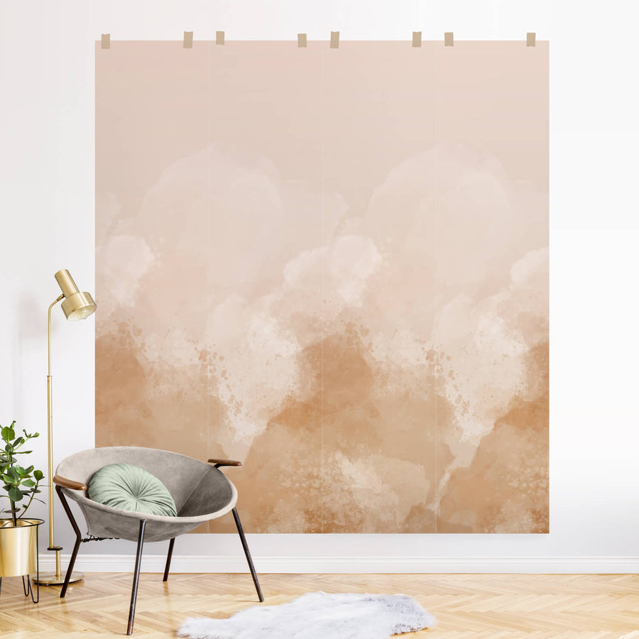 Watercolor Ombre removable wall mural