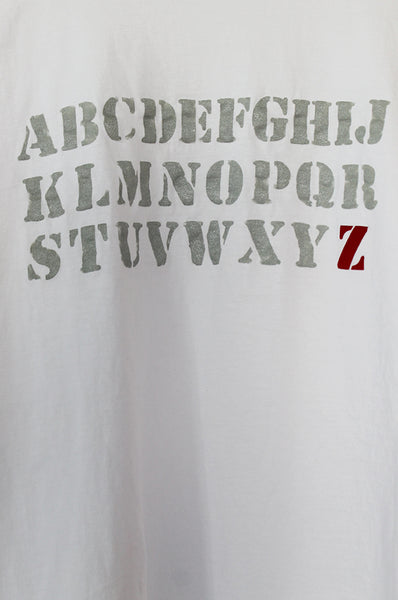 Personalized ABC White T-shirt