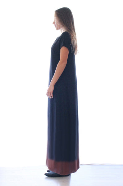 Only One dyed Black maxi dress
