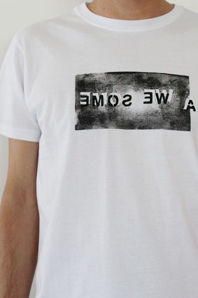 AWESOME Printed White men's T