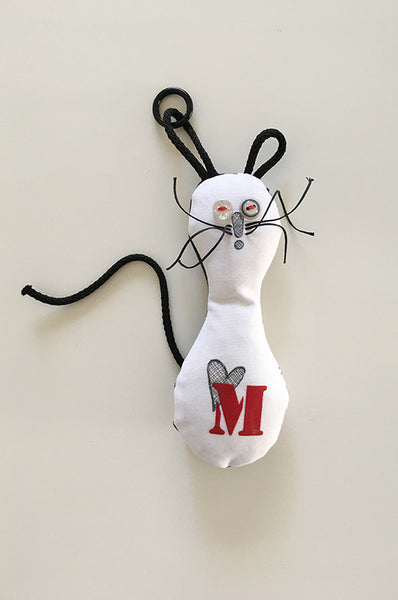 Personalized Handmade mouse doll