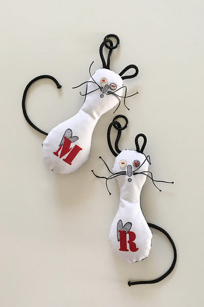 Personalized ABC HEART doll