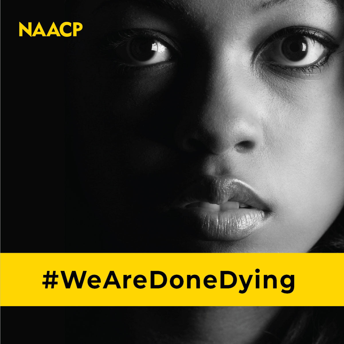 #WeAreDoneDying NAACP photo