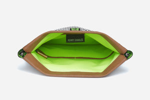 Flex Frame Makeup Clutch -  Sultry Pop