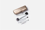 luxury and designer makeup brush storage case for travel