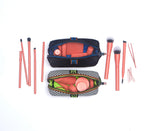 Toiletry bag for travel sized products bottles and makeup Henry Charles