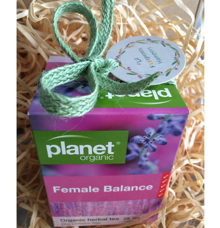 Planet Organic | Female Balance Herbal Tea 25pk