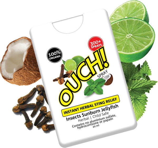 OUCH | Instant Herbal Sting Relief Spray 20ml