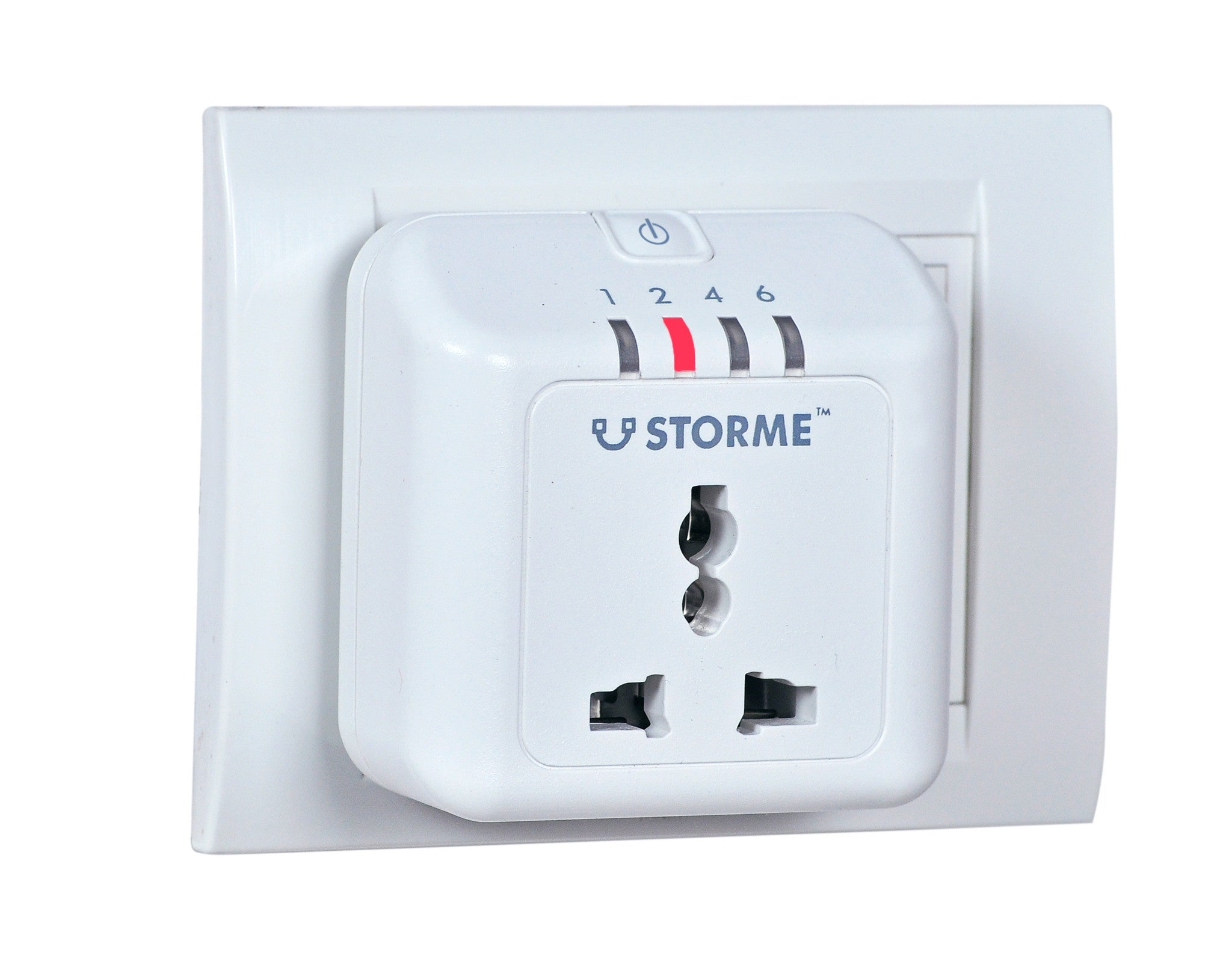 Storme Timer Socket - Automatic Power Cut-off Smart Plug (White, Plastic)