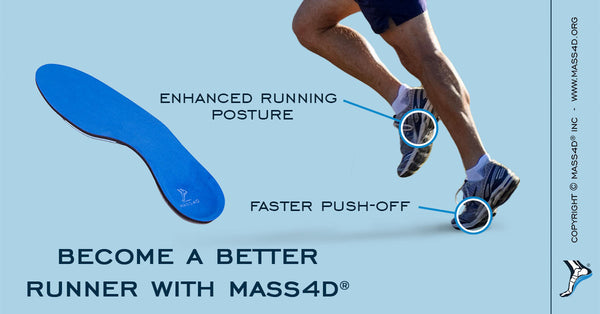 Benefits of MASS4D® Running Insoles