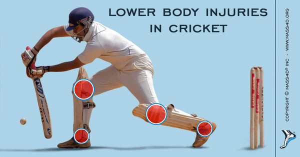 Lower Body Injuries Cricket