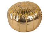 Luxury golden pouf 59