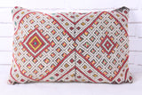 Unusual Moroccan rug pillow