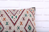 Moroccan pillow 16.1 inches X 24 inches