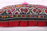 moroccan pillow, 16.1 inches X 22 inches
