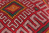 Moroccan rug pillow