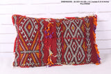 Exotic Moroccan rug pillow