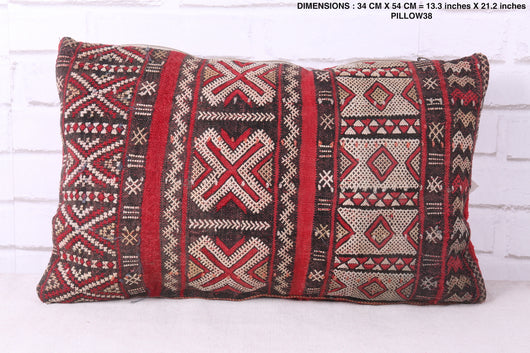 Comfortable Moroccan rug pillow