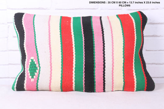 Authentic Moroccan rug pillow