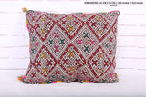 moroccan pillow, 16.5 inches X 19.6 inches