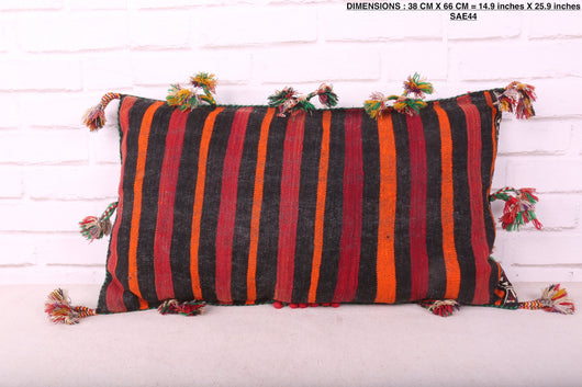 moroccan pillow, 14.9 inches X 25.9 inches