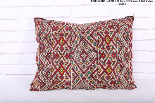 moroccan pillow, 15.7 inches X 20.2 inches