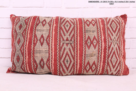 Exclusive Moroccan rug pillow